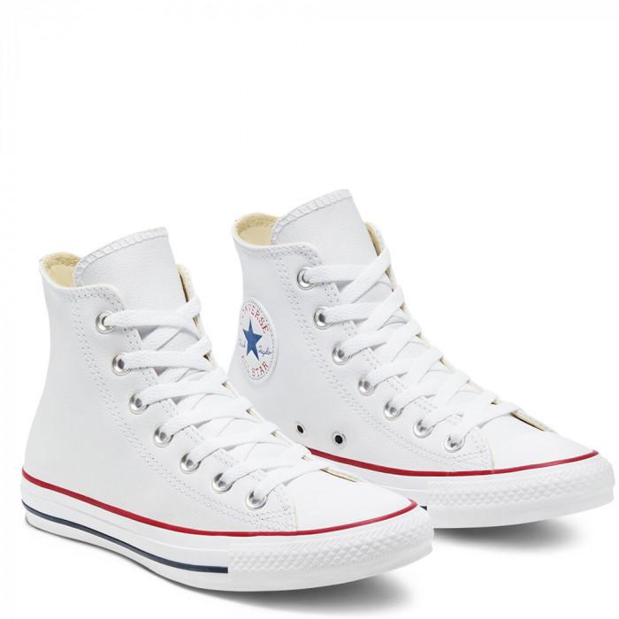 Кеды Converse CT HI Leather White 132169C