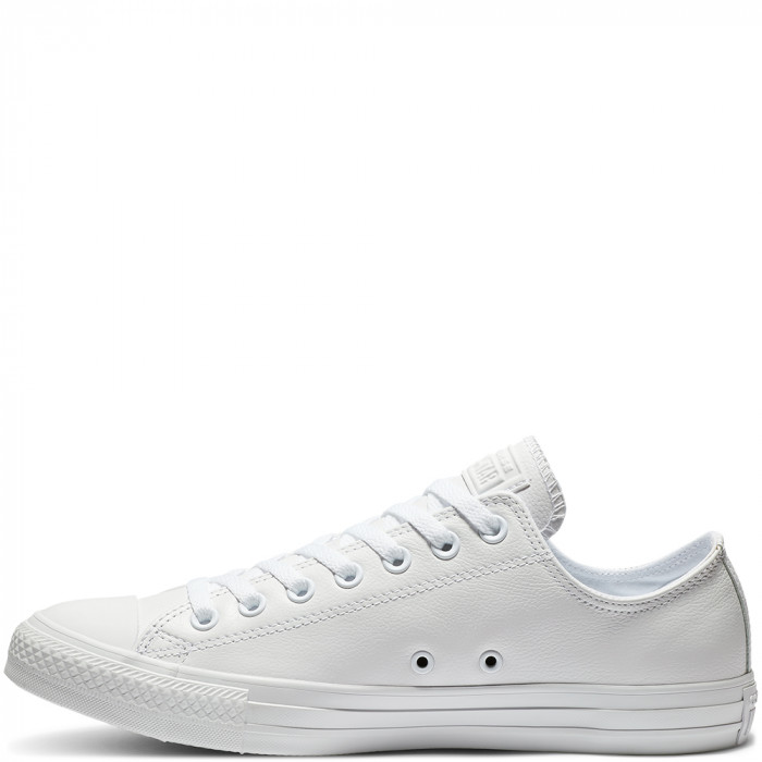 Кеды Converse Chuck Taylor All Star Ox Mono Leather White 136823C