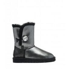 UGG Australia Bailey Button II Boot Leather I Do Black