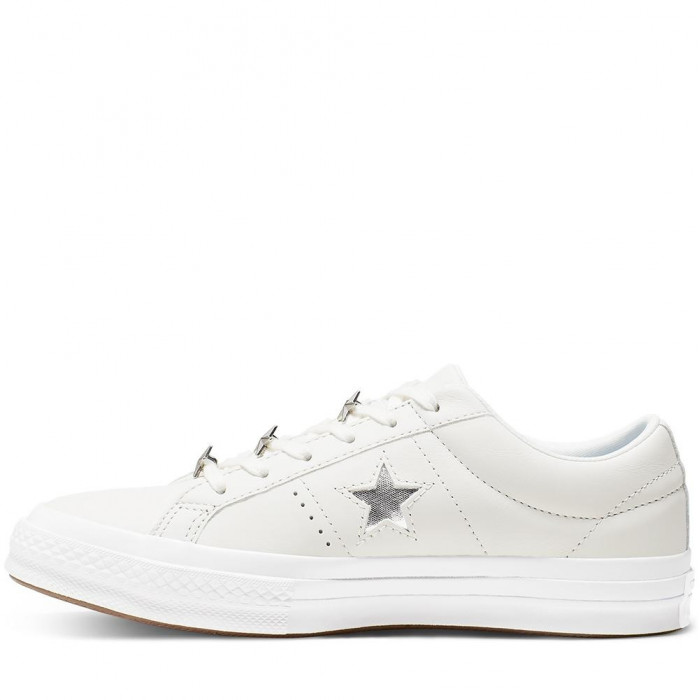 Кеды Converse One Star Ox Leather White 165020C