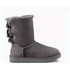 UGG Australia Bailey Bow II Boot Grey