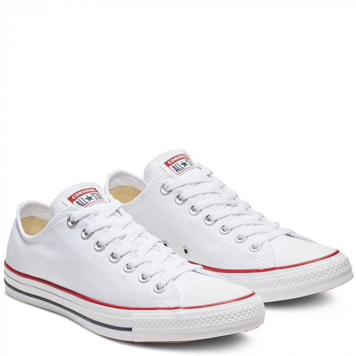Кеды Converse All Star Ox White M7652C